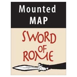 Sword of Rome Mounted Map