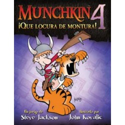 Munchkin 4: ¡Que locura de...