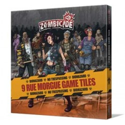 Zombicide. Rue Morgue Game...