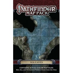 Pathfinder Map Pack: Sea Caves