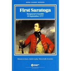 First Saratoga: Burgoyne's...