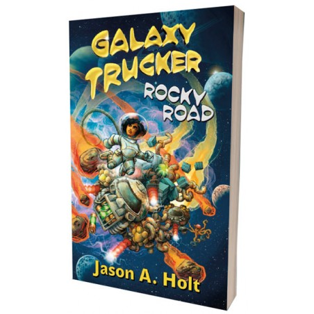 Galaxy Trucker. Rocky Road...