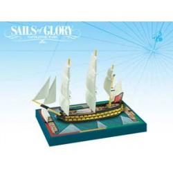 Sails of Glory. HMS Africa...