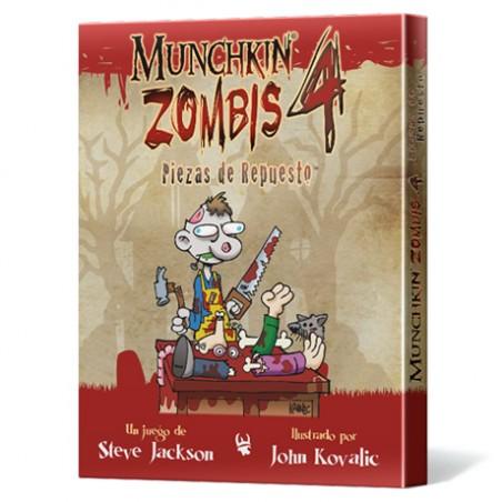Munchkin Zombies 4: Piezas...