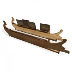 Anibal y Amilcar: Wooden...