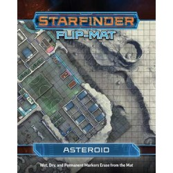 Starfinder: Flip-Mat Asteroid
