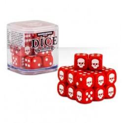 Dice Cube Warhammer: Rojo...