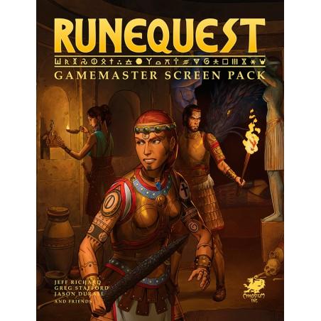 RuneQuest: GM Screen Pack