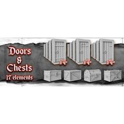 Skull Tales: Set de puertas...