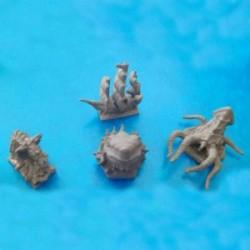 Skull Tales: 4 minis de mar
