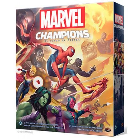 Marvel Champions: El juego...