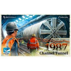 1987 Channel Tunnel + lámina