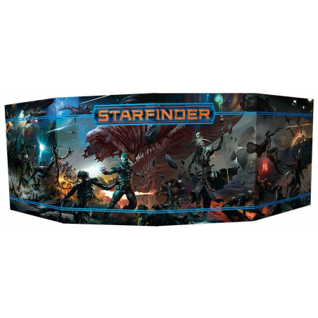 Starfinder. Pantalla del DJ