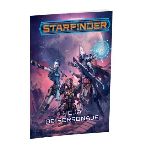 Starfinder. Hojas de Personaje