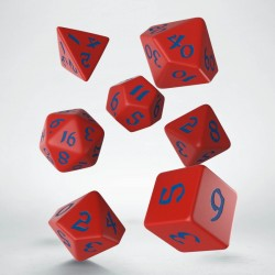 Classic Runic Red/Blue Dice...