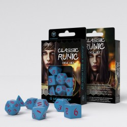 Classic Runic Blue/Red Dice...