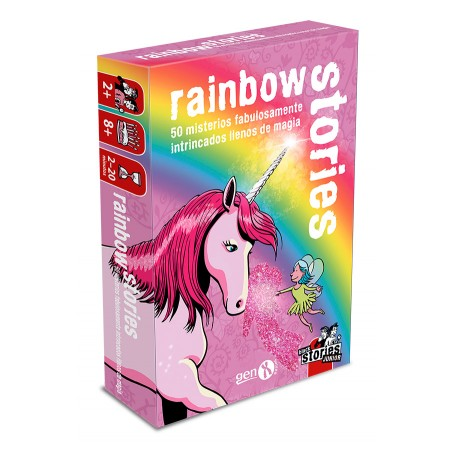 Black Stories Jr. Rainbow...