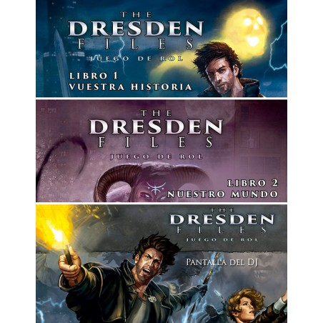 Pack the Dresden Files