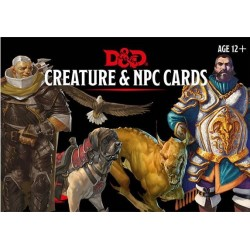 D&D Monster Cards: NPCs &...