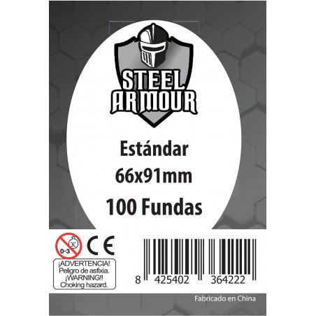 100 Fundas Steel Armour...