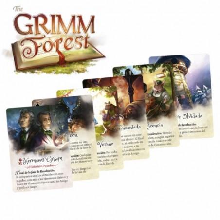 Grimm Forest: Set de cartas...