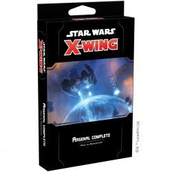 X-Wing 2ª Ed. Arsenal Completo