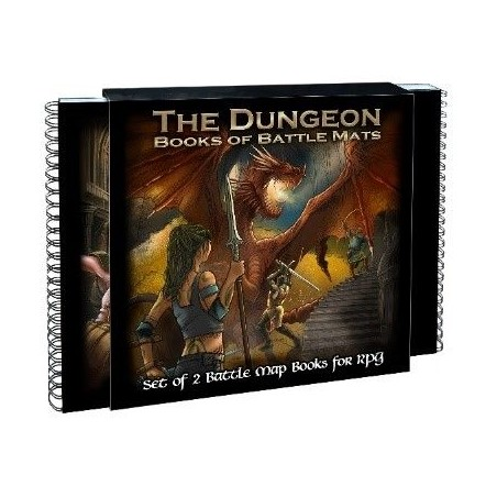 The Dungeon Books of Battle...